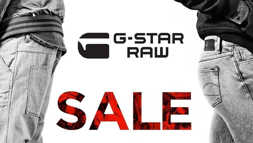 Time to upgrade your Streetwear Staples, take the ride of G-Star Raw Super Sales