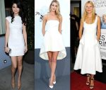 In the Mood for White Dresses