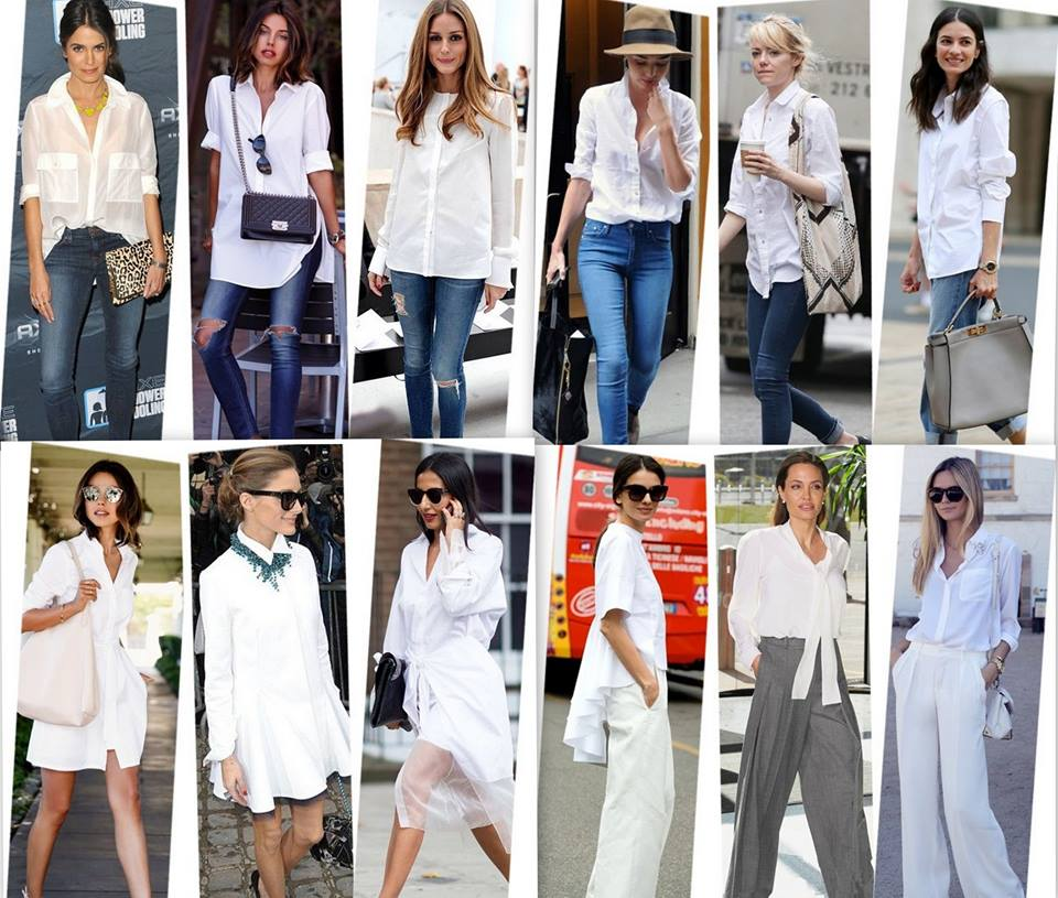 Get your white shirt fix before it's too cold