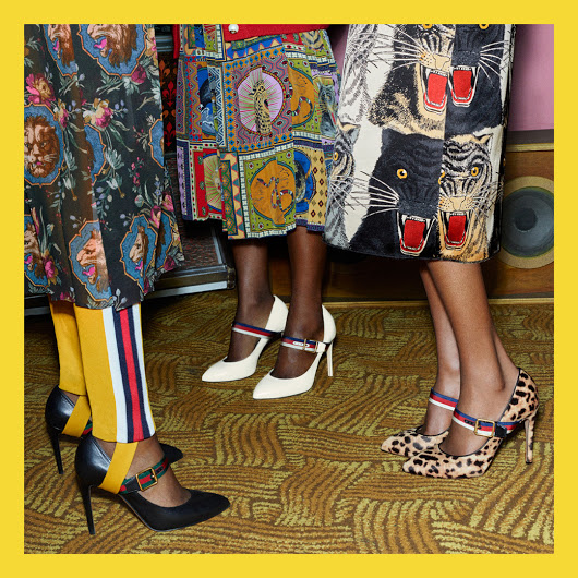 Who says that you can not wear art ?- Take a look at these artistic Gucci shoes and prove the opposite