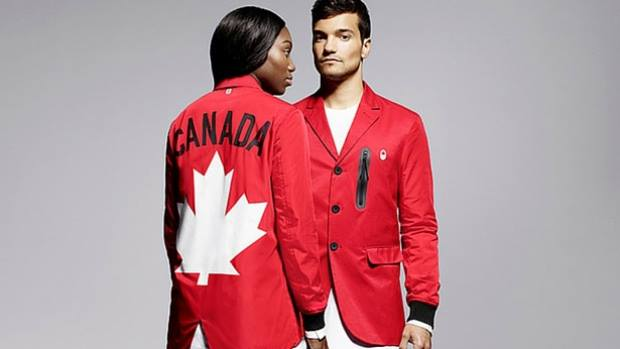 Canadian Team Rio Olympics 2016 uniform